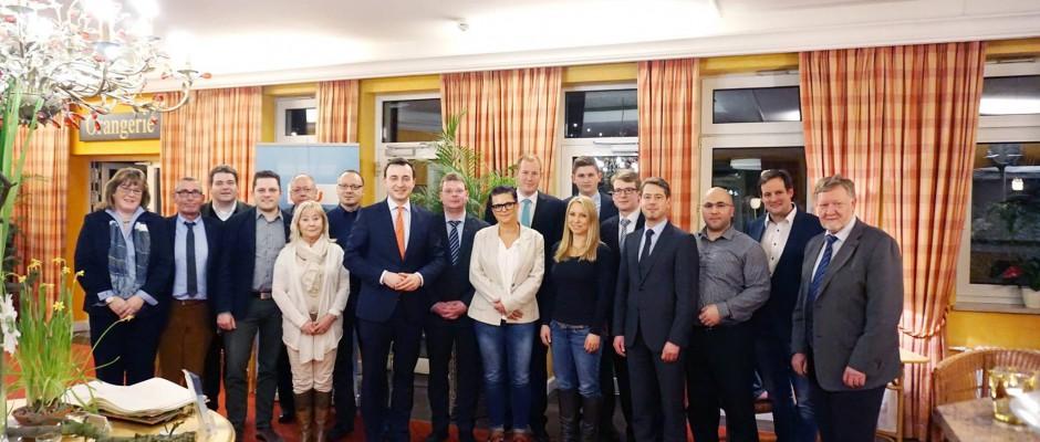 Mitgliederversammlung 2016 der CDU Iserlohn hat neuen Vorstand gewählt