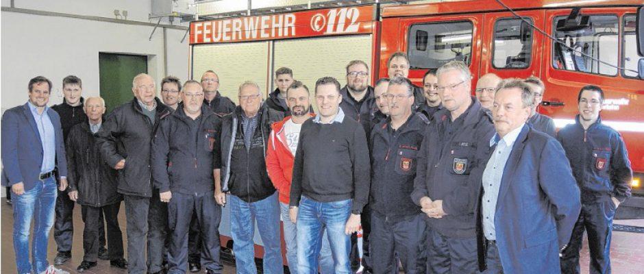 CDU trifft Ehrenamt – Besuch der Freiwilligen Feuerwehr Leckingsen