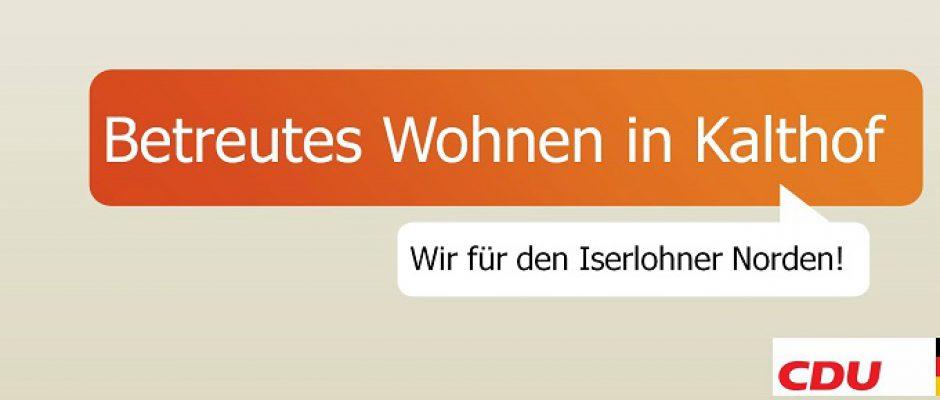 CDU für Betreutes Wohnen in Kalthof